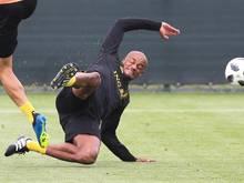 Nach langer Verletzungspause ist Vincent Kompany ins Mannschaftstraining eingestiegen