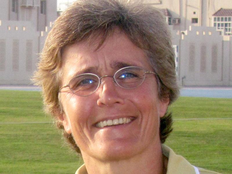 Monika Staab leistete als Trainerin des Frauen-Nationalteams von Katar Pionierarbeit
