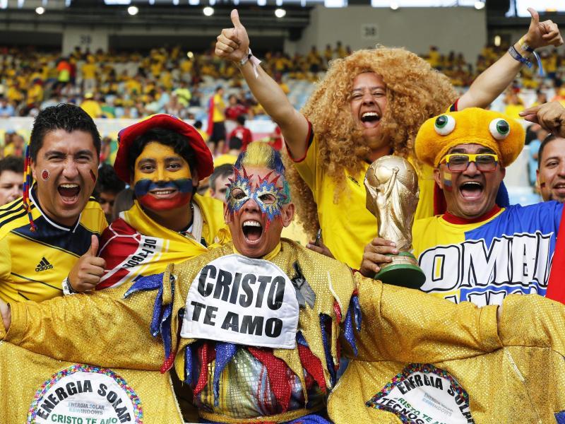 Die kolumbianischen Fans würden sich über die WM 2030 im eigenen Land sehr freuen
