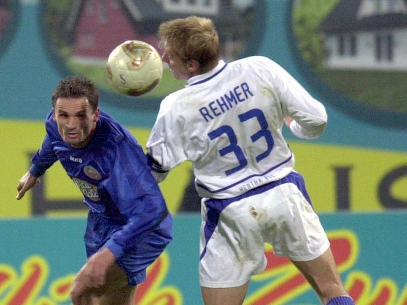 In früheren Zeiten begegneten sich Hansa und Hertha auf Augenhöhe