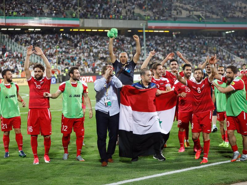 Die syrische Nationalmannschaft will sich für die WM 2018 qualifizieren