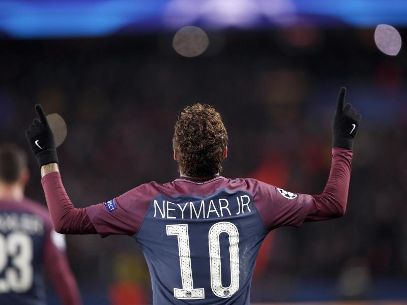 Neymar war wieder einmal der gefeierte Mann bei PSG