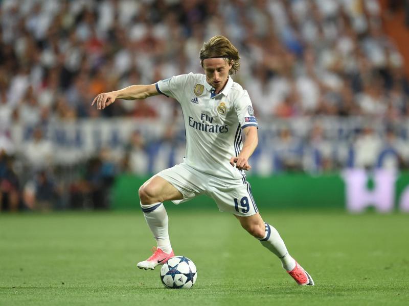 Zahlt offenbar eine Million Euro Steuern in Spanien nach: Luka Modric von Real Madrid