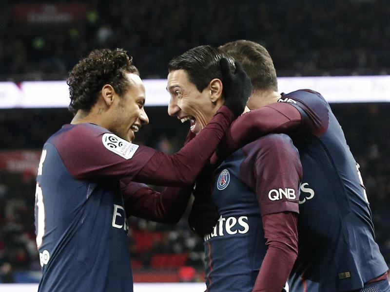 Paris Saint-Germain feiert in der Ligue 1 einen Kantersieg