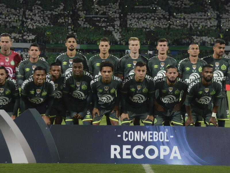 Die Spieler von Chapecoense wurden beim Spiel gegen Nacional Montevideo verunglimpft
