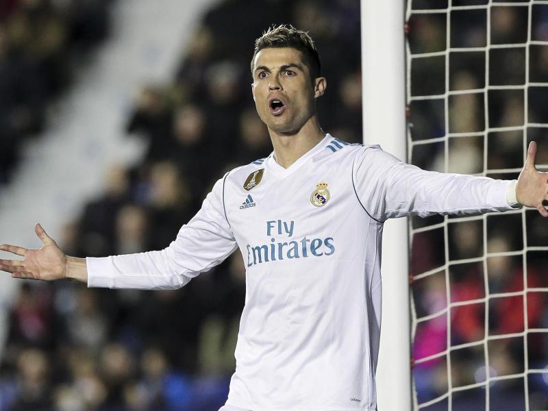 Vollkommen frustriert: Cristiano Ronaldo