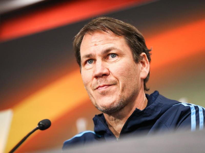 Marseilles Trainer Rudi Garcia sah ein 0:0 seiner Mannschaft