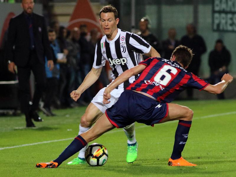 Juventus Turin kam bei Crotone Calcio nicht über ein 1:1 hinaus