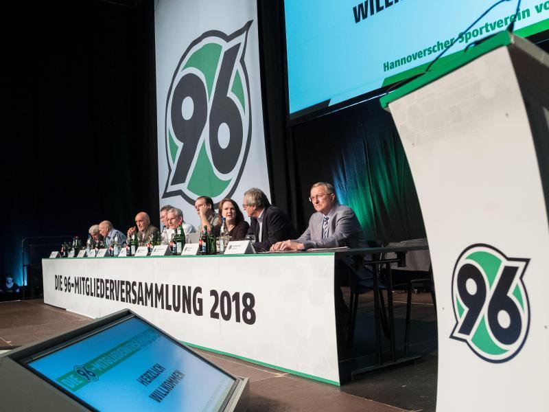 Auf der Mitgliederversammlung von Hannover 96 ging es kontrovers zu