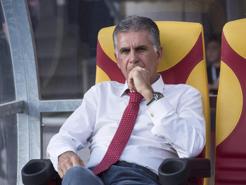 Feierte mit dem Iran einen knappen Testspielsieg: Trainer Carlos Queiroz
