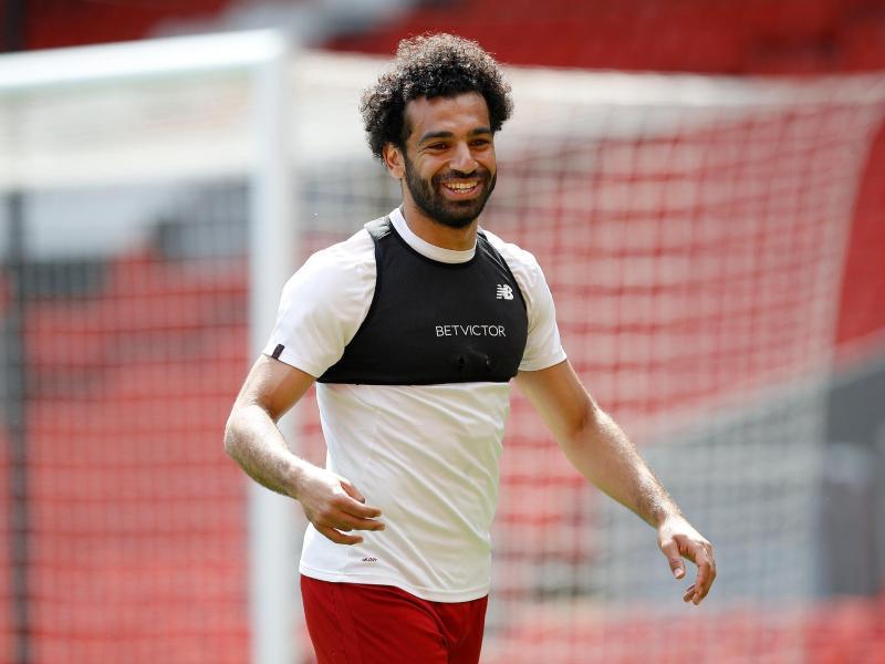 Mohamed Salah wurde Spieler des Jahres in der Premier League