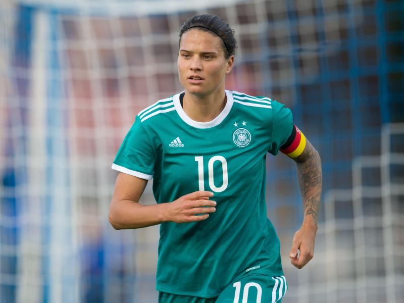 Deutschlands Mittelfeldspielerin Dzsenifer Marozsán