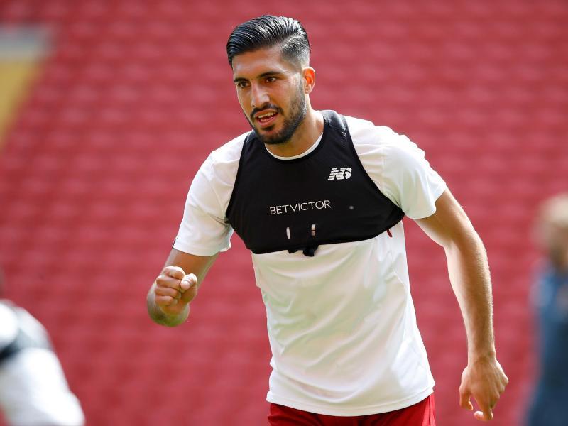 Emre Can steht beim FC Liverpool vor dem Absprung