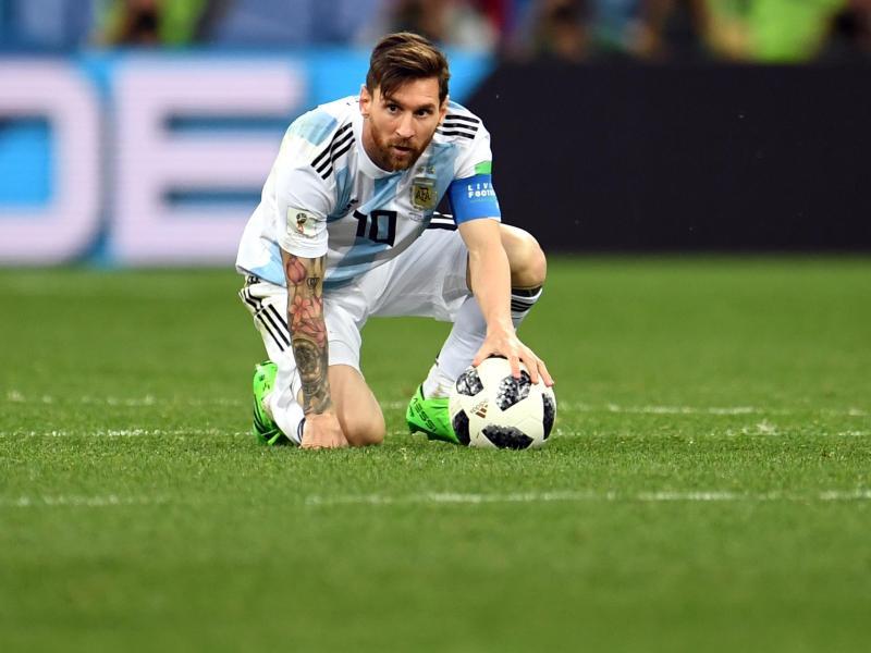 Lionel Messi wird in der Albiceleste einfach nicht glücklich