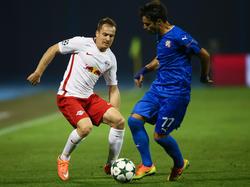Christian Schwegler wurde Zur Pause ausgewechselt, sah aber laut UEFA  in der 105. Minute Rot.