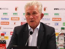 Bayern-Trainer Jupp Heynckes ist zufrieden mit der Wahl seines Nachfolgers