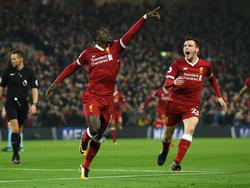 Sadio Mané und der FC Liverpool haben ManCity bezwungen