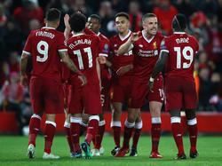 El Liverpool ha barrio del campo a la Roma en la primera mitad. (Foto: Getty)