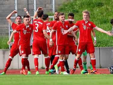 Grenzenloser Jubel im Lager der Bayern-Junioren