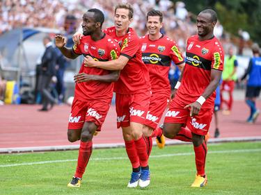 Nicolas Ngamaleu leitete den 3:0-Auswärtssieg per Traumtor ein