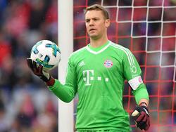 Soll bald wieder im Bayern-Tor stehen: Weltmeister Manuel Neuer