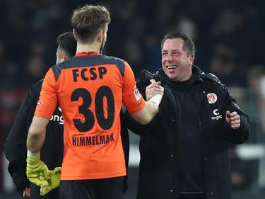 Robin Himmelmann bleibt im Tor vom FC St. Pauli die Nummer eins