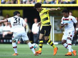 Gute Leistung gegen Leverkusen: Dortmunds Jadon Sancho