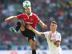 Niclas Füllkrug erzielte in der abgelaufenen Saison 14 Tore für Hannover 96