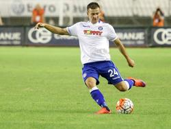 Marko Pejić im Dress von Hajduk Split