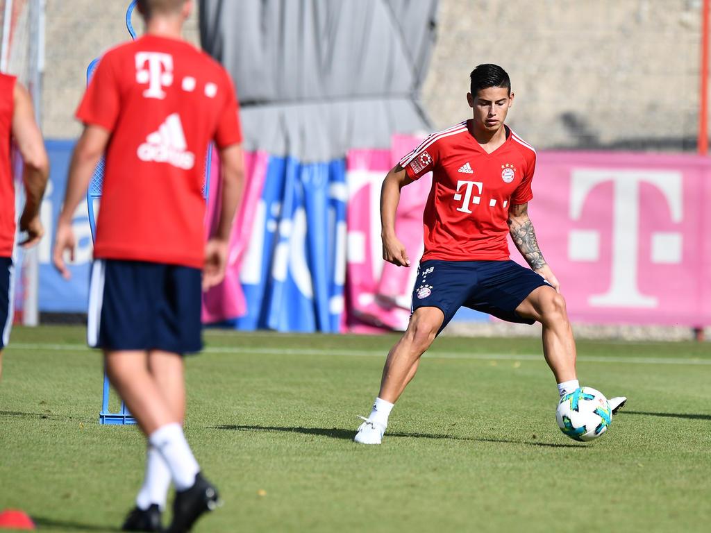 James Rodríguez spielt für zwei Jahre auf Leihbasis beim FC Bayern