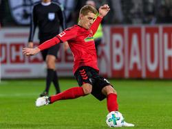 Nils Petersen wird gegen Wolfsburg dabei sein