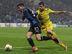 Der BVB trennte sich im Rückspiel Remis von Bergamo