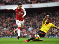 Mesut Özil und der FC Arsenal treffen im Halbfinale der Europa League auf Atlético Madrid