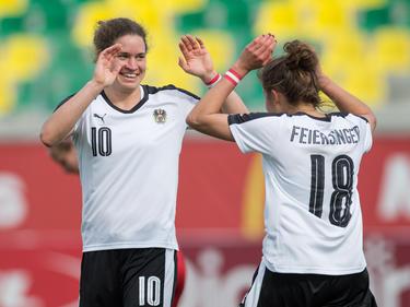 Laura Feiersinger war Österreichs Beste