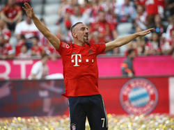 Franck Ribéry vom FC Bayern bewirbt sich um WM-Kaderplatz