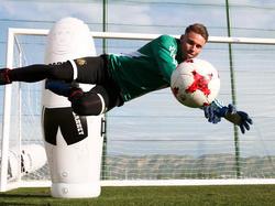 Tobias Knoflach stand beim Wiener Derby gegen die Austria überraschend im Rapid-Tor