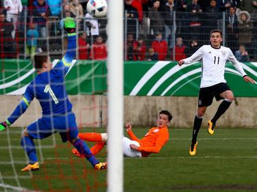 Jano Baxmann (r.) erzielte das Tor des Tages
