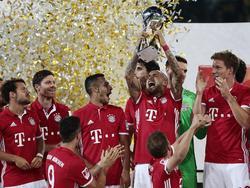 Bayern setzte im Supercup erstes Ausrufezeichen