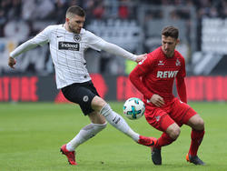 Frankfurt behielt im Heimspiel gegen den 1. FC Köln die Oberhand