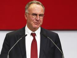 Karl-Heinz Rummenigge gibt sich weiter gelassen