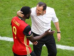 Stand bei der EM 2016 für Belgien an der Seitenlinie: Marc Wilmots