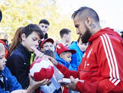 Arturo Vidal steht dem FC Bayern wieder zur Verfügung