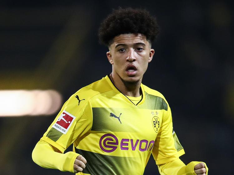 Jadon Sancho spielt seit Saisonbeginn für den BVB
