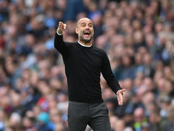 Pep Guardiola en un encuentro contra el Swansea City. (Foto: Getty)