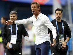 Marokko-Trainer Hervé Renard will seine Mannschaft nochmal motivieren