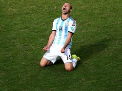 Javier Mascherano es todo un veterano en la selección Albiceleste. (Foto: Getty)