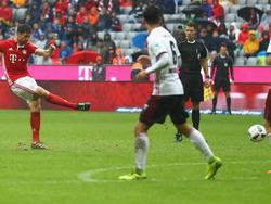 Xabi Alonso erzielte das 2:1 für die Bayern