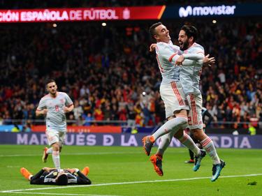 Spanien feierte einen 6:1-Kantersieg gegen Argentinien