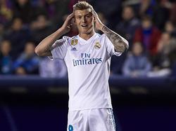 Real Madrids ToniKroos fällt wegen einer Bänderdehnung vorerst aus