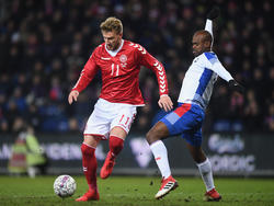Nicklas Bendtner no podrá asistir al evento de Rusia con sus compatriotas. (Foto: Getty)